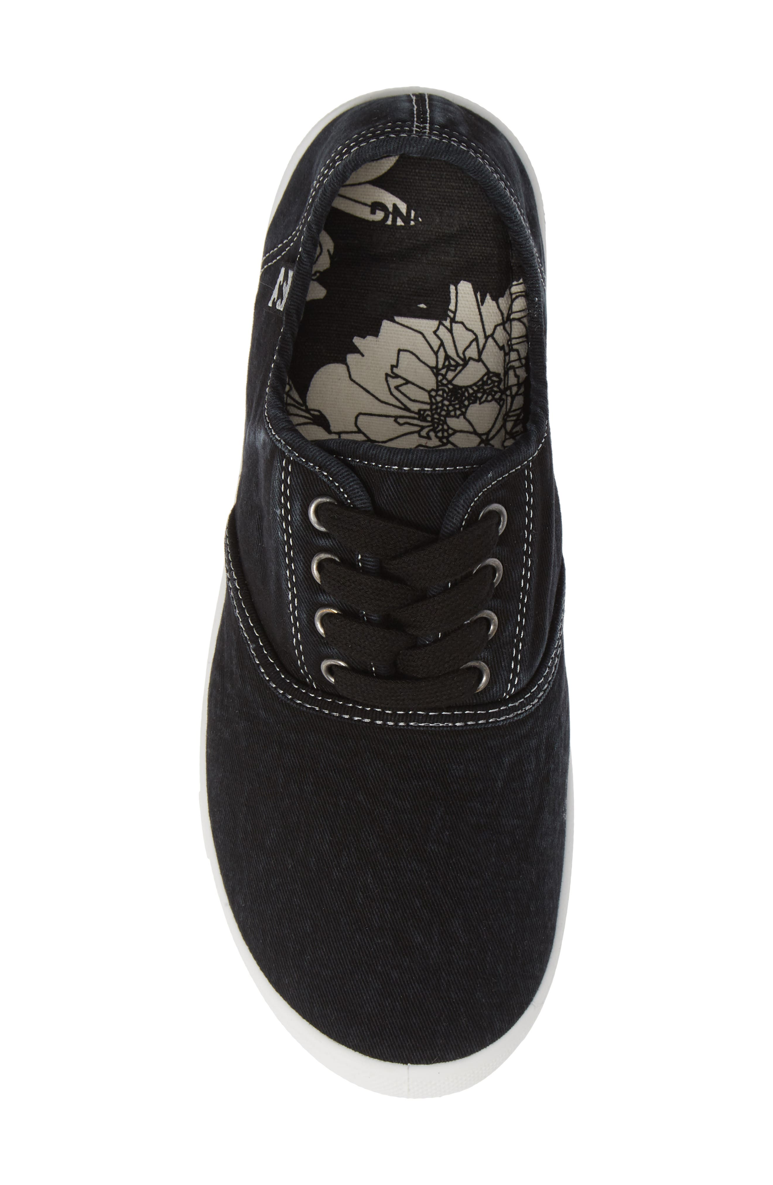 Addy Sneaker,                             Alternate thumbnail 6, color,                             Off Black