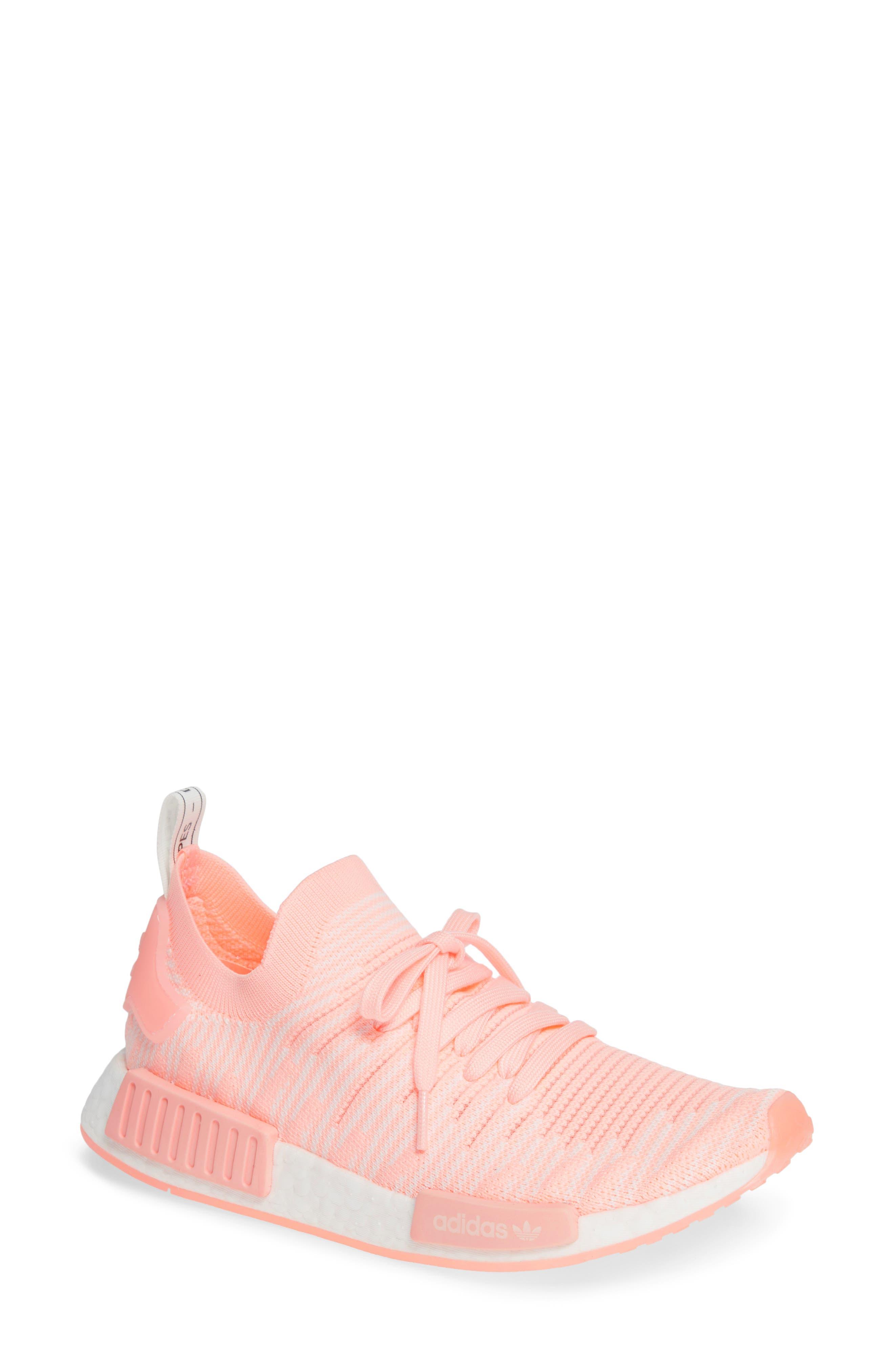 Adidas Originals Nmd R1 Stlt Primeknit Sneaker Clear Orange Cloud