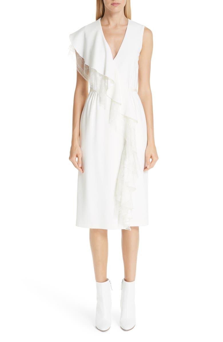 Lace Ruffle Cady Dress