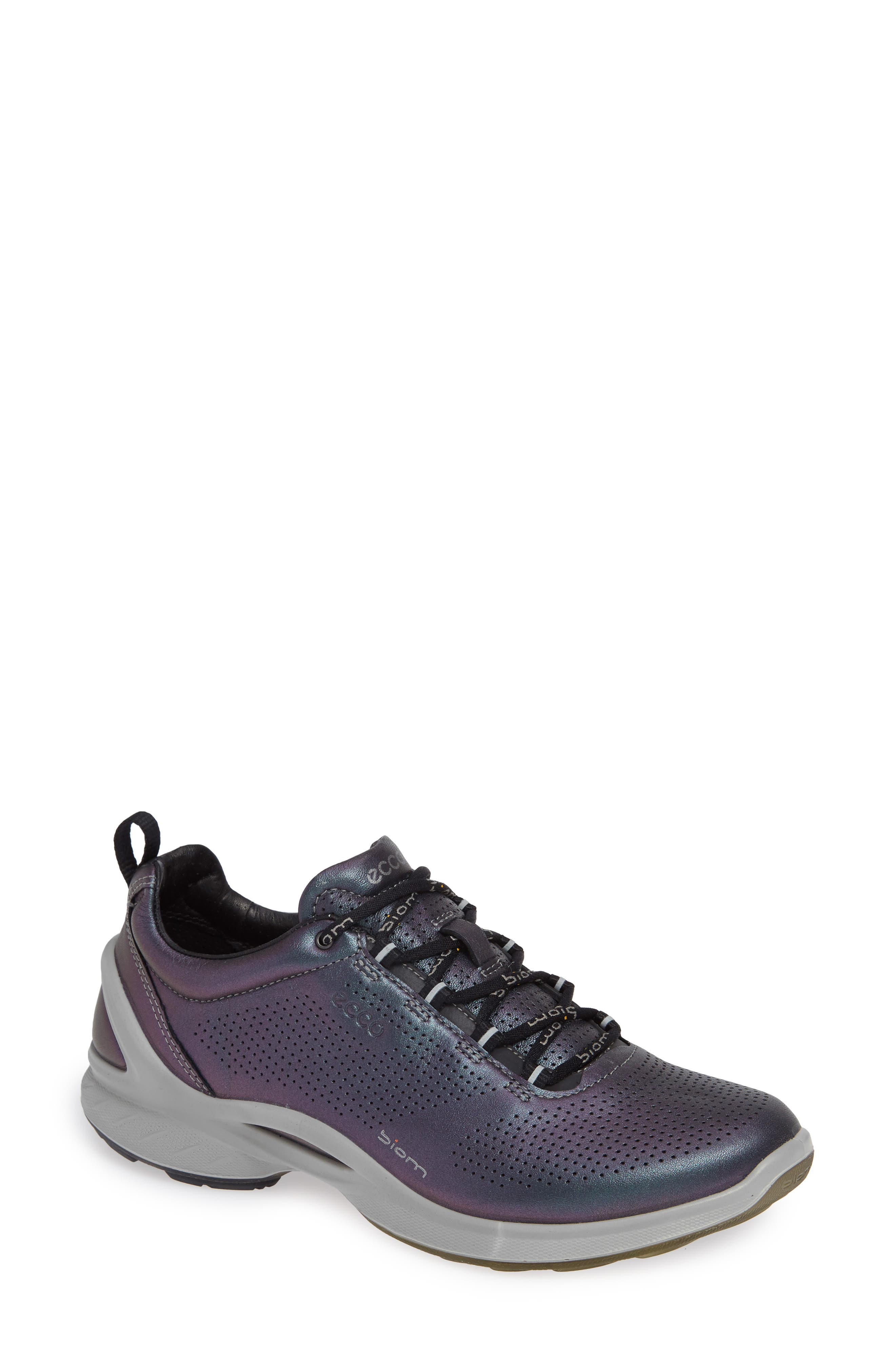 'Biom Fjuel' Sneaker,                         Main,                         color, Iridescent Leather
