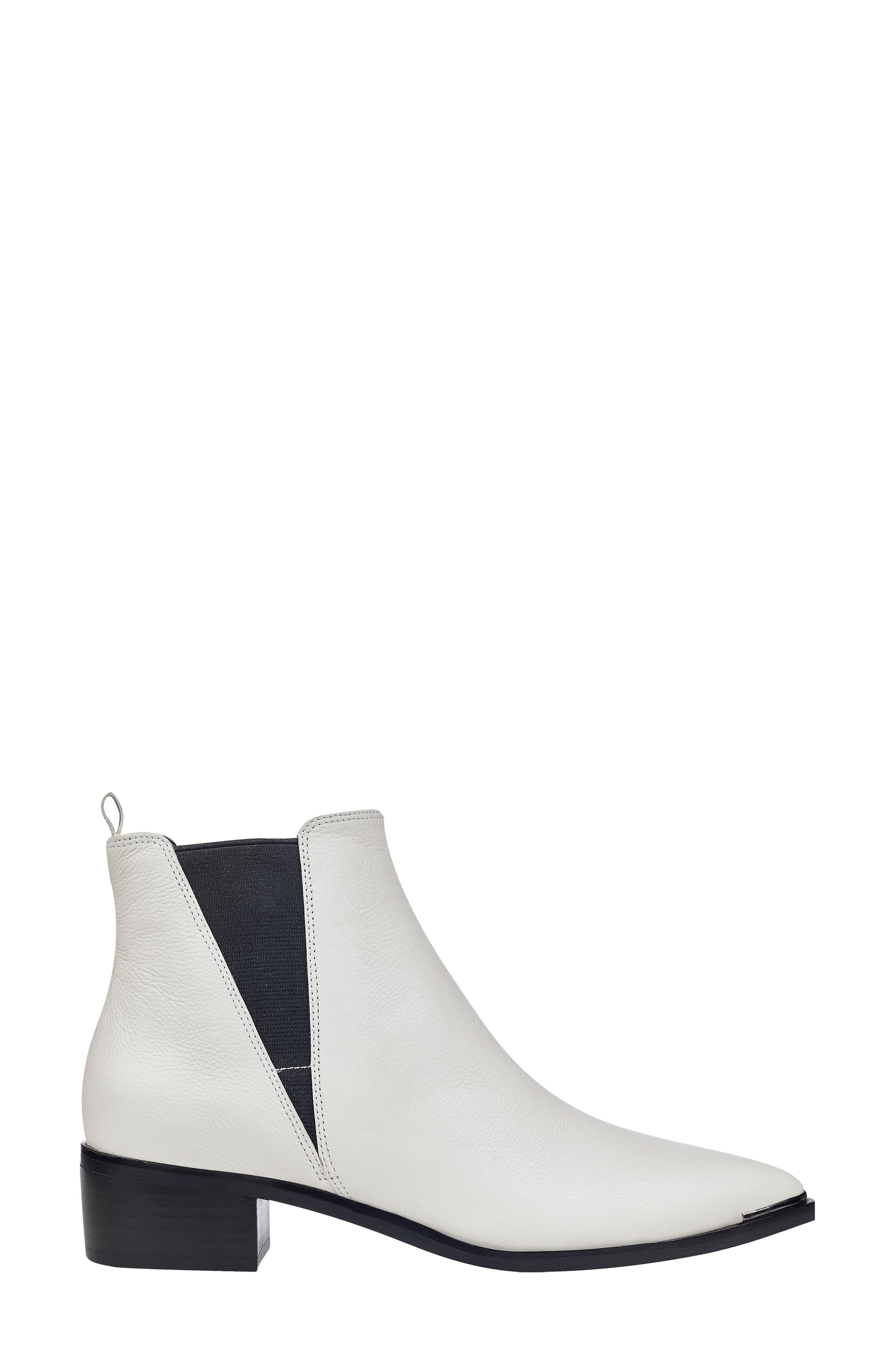 'Yale' Chelsea Boot,                             Alternate thumbnail 6, color,                             Ivory Leather