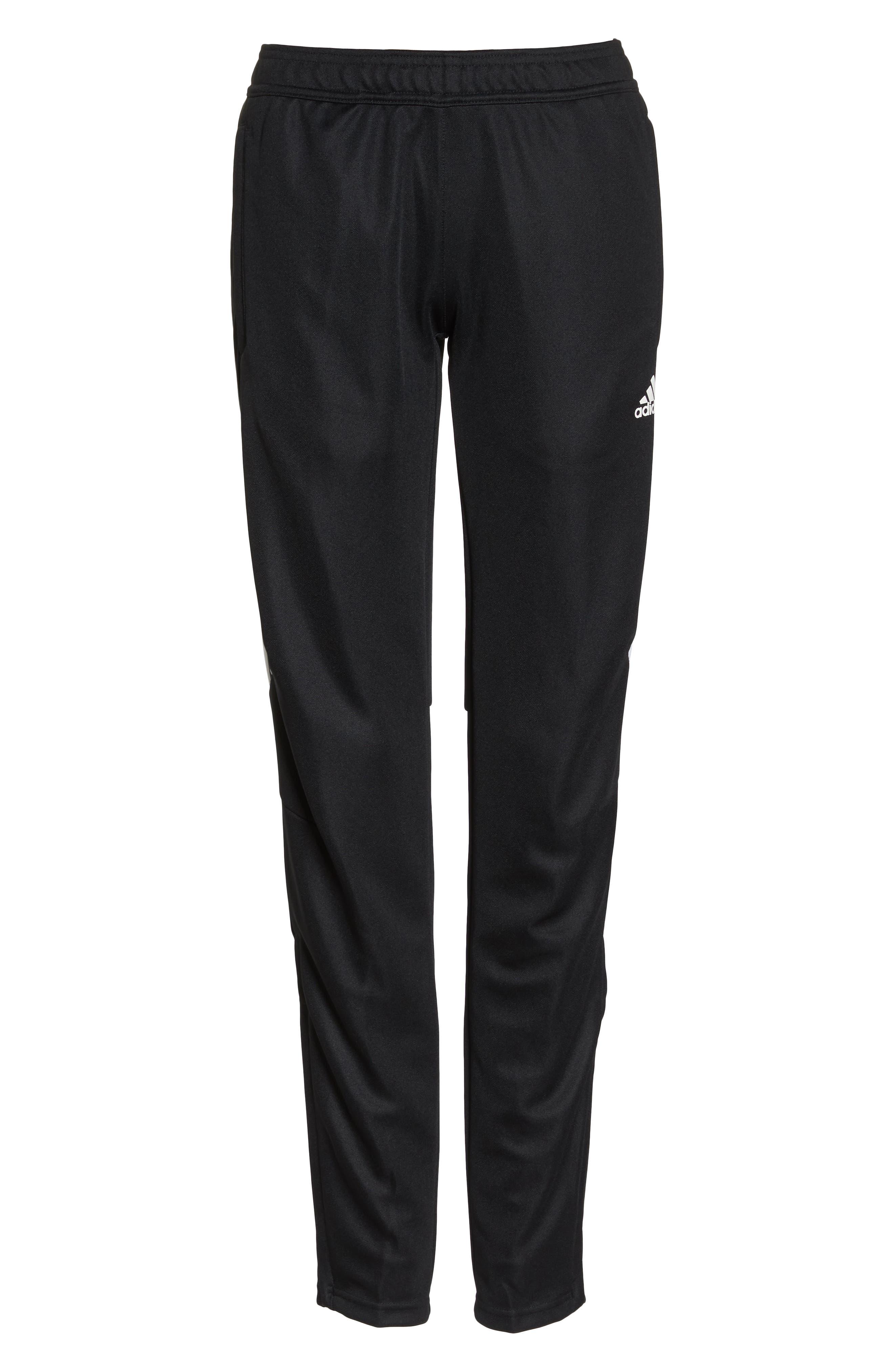 Tiro 17 Training Pants,                             Alternate thumbnail 7, color,                             Black/ White/ White