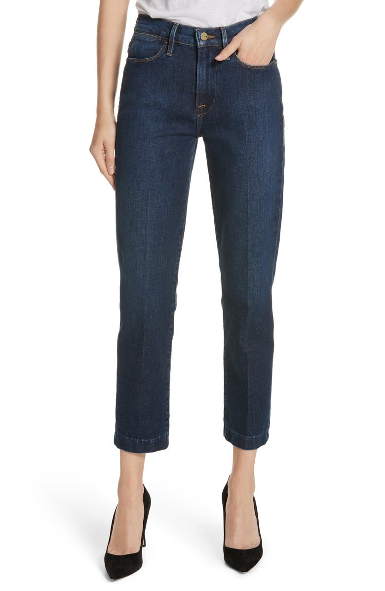 Le High Straight Blind Stitch Jeans