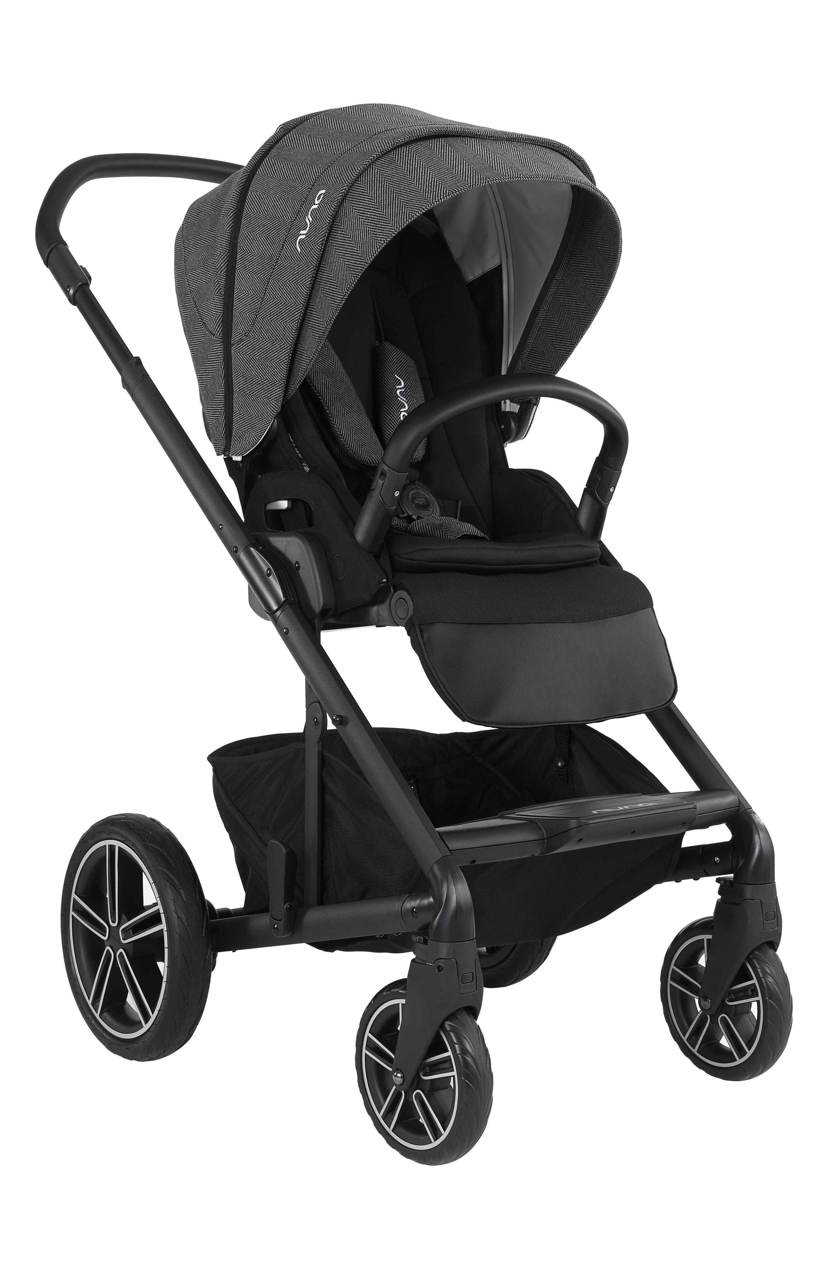 2019 MIXX<sup>™</sup> Stroller & PIPA<sup>™</sup> Lite LX Infant Car Seat Set Travel System,                             Alternate thumbnail 6, color,                             Verona Caviar