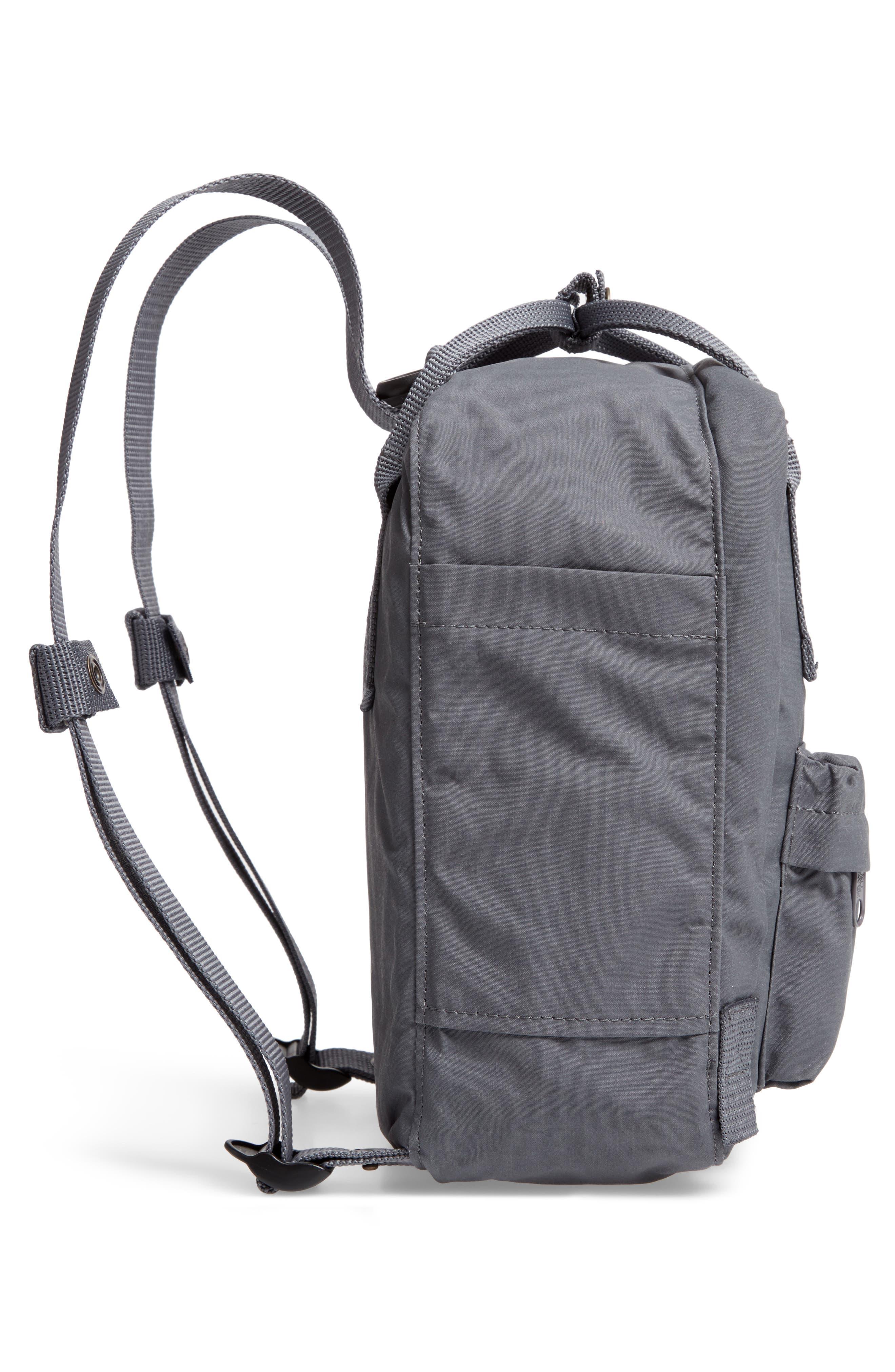 'Mini Kånken' Water Resistant Backpack,                             Alternate thumbnail 4, color,                             Super Grey