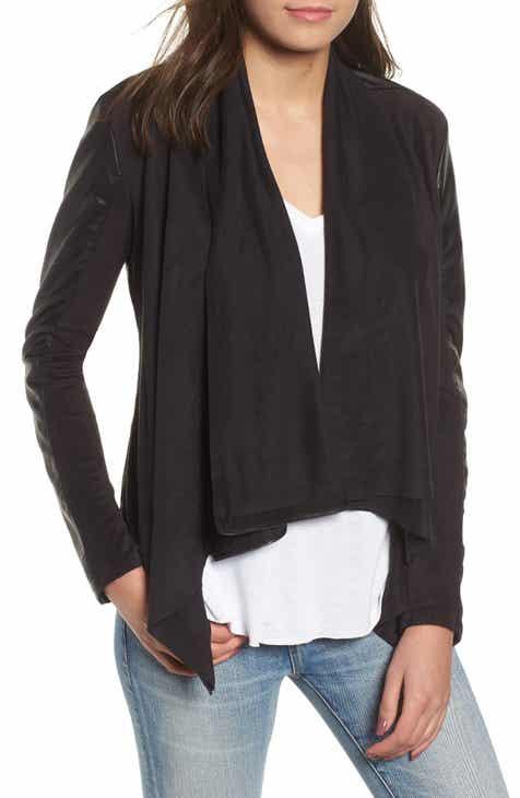 07627ac88ee2 BLANKNYC Drape Front Jacket