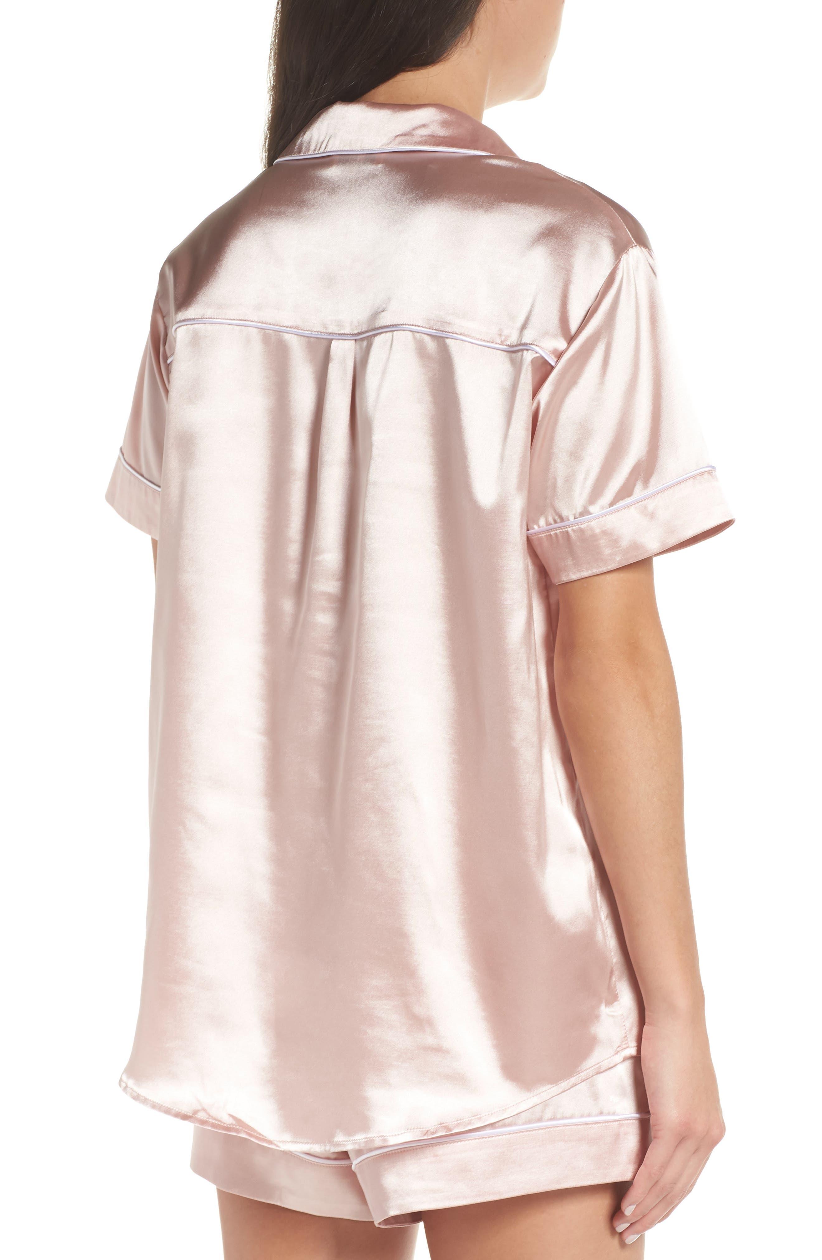 Bridesmaid Pajamas,                             Alternate thumbnail 2, color,                             Pink