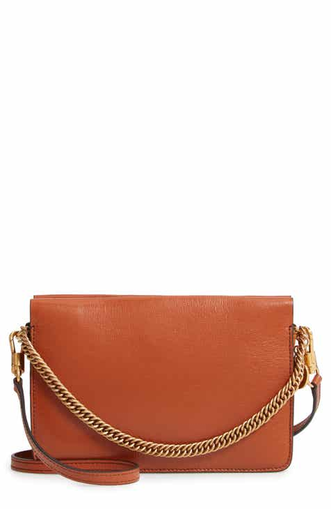 cb663fedd8 Givenchy Cross 3 Leather Crossbody Bag