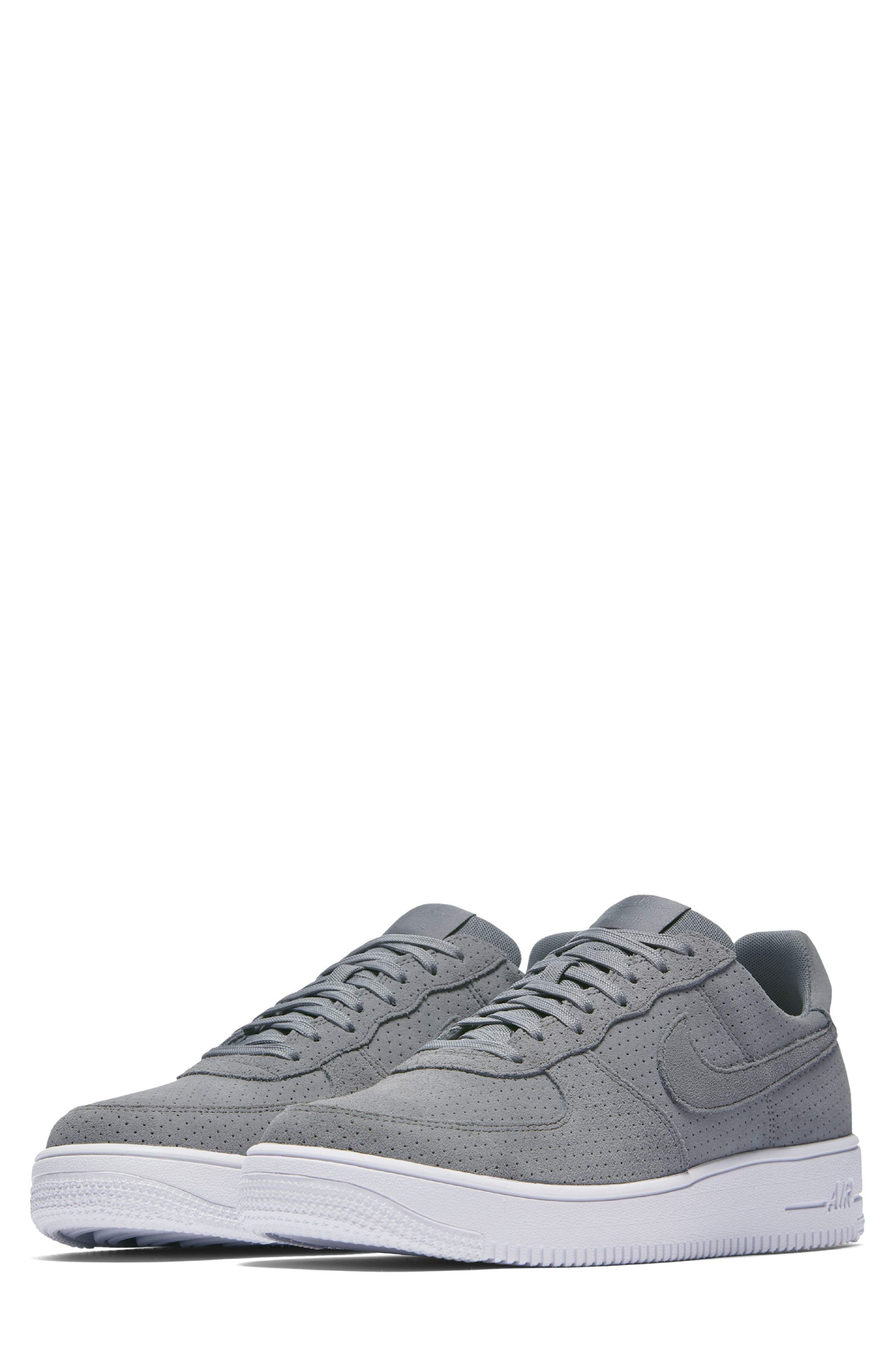 Air Force 1 Ultraforce Sneaker,                             Main thumbnail 1, color,                             Cool Grey/ White