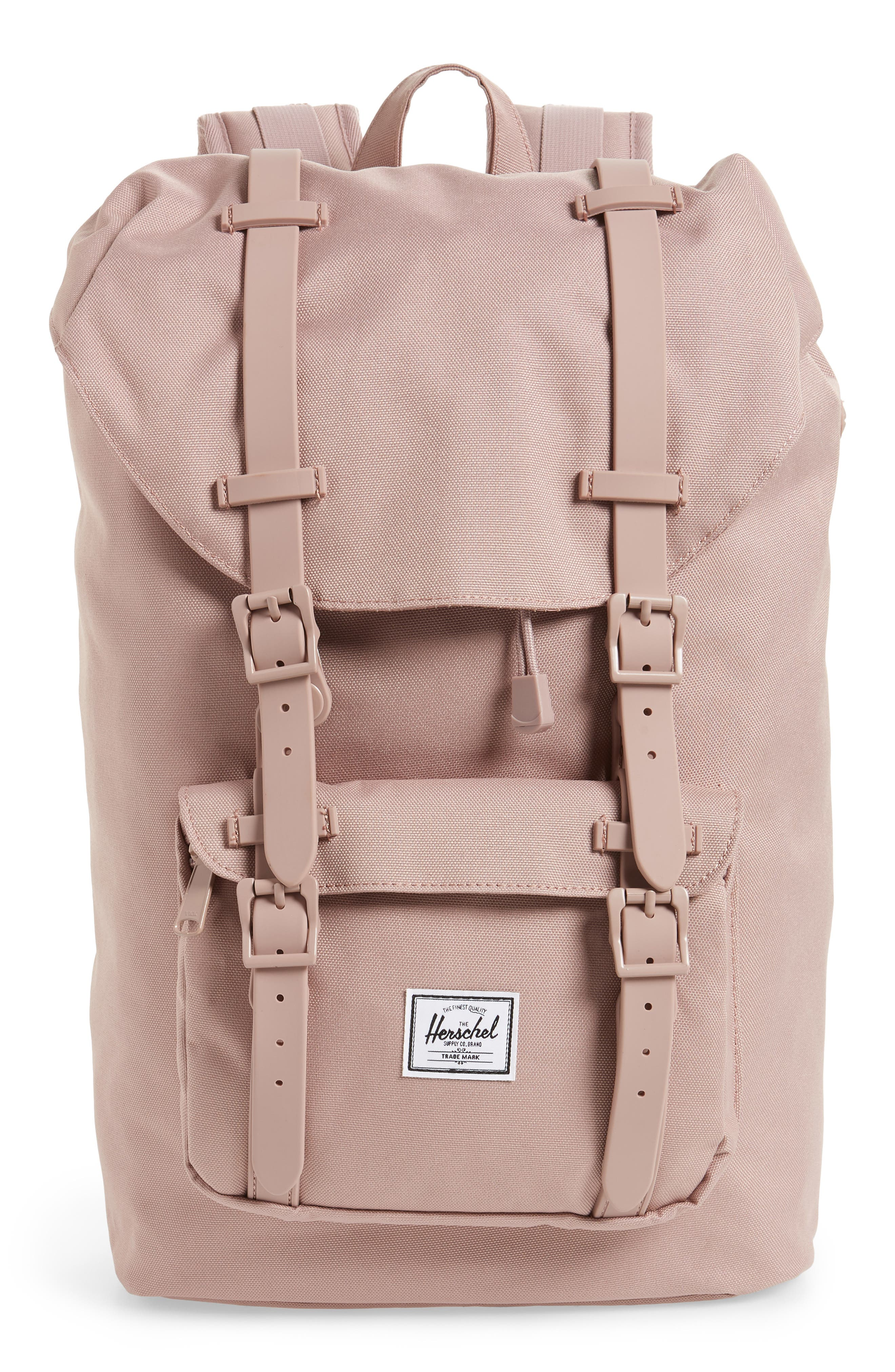 Little America - Mid Volume Backpack,                             Main thumbnail 1, color,                             Ash Rose