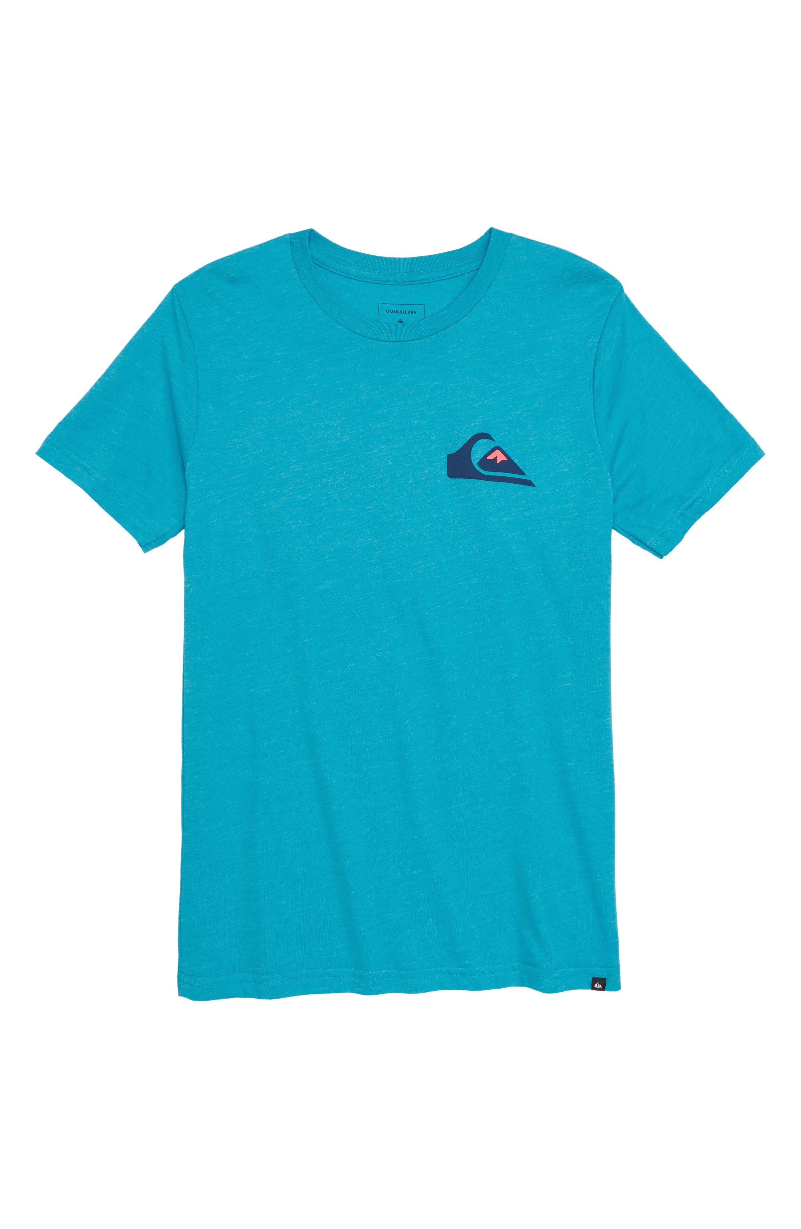 Vice Versa Graphic T-Shirt,                             Main thumbnail 1, color,                             Typhoon Heather