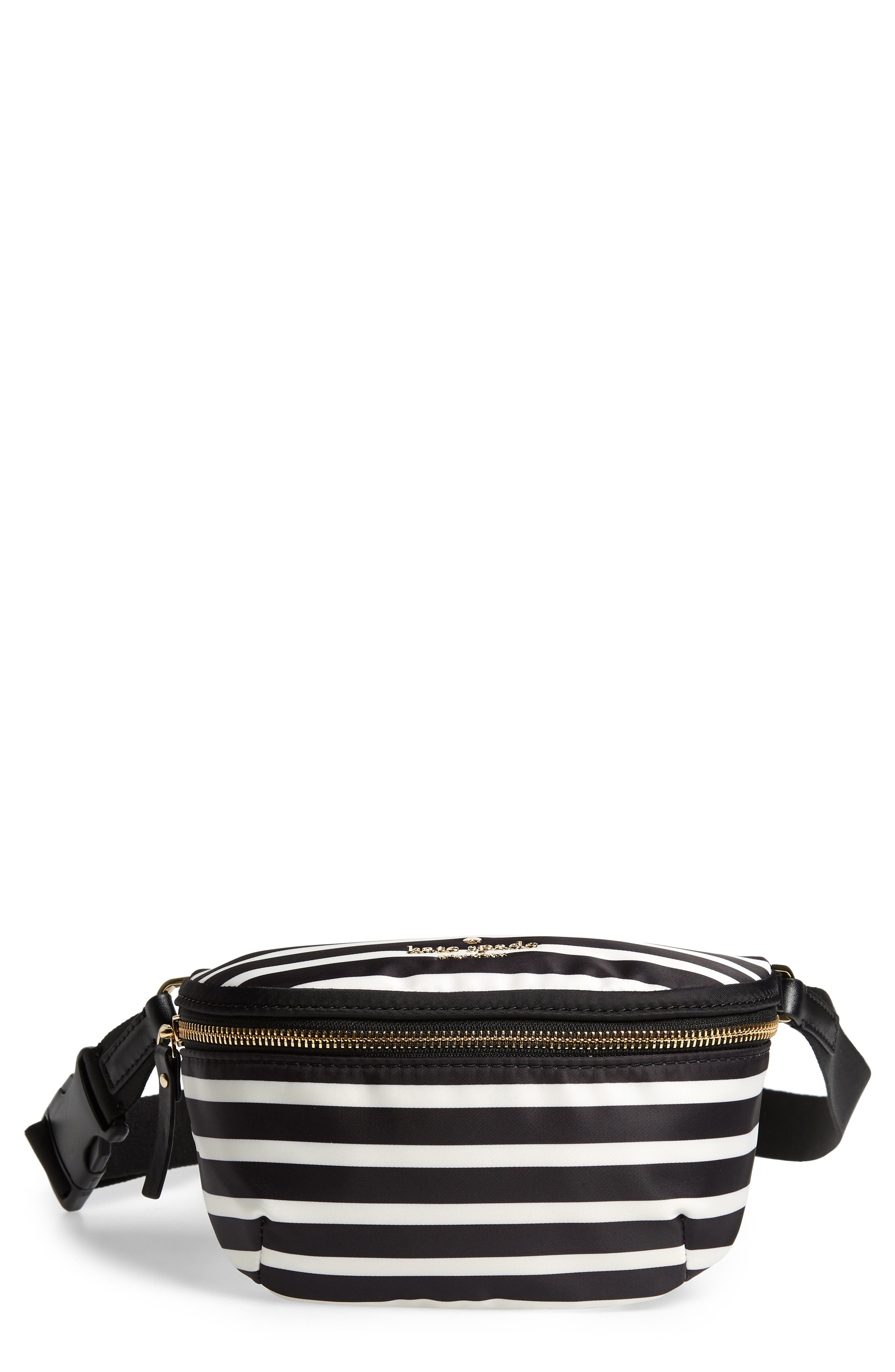 WATSON LANE - BETTY NYLON BELT BAG - BLACK