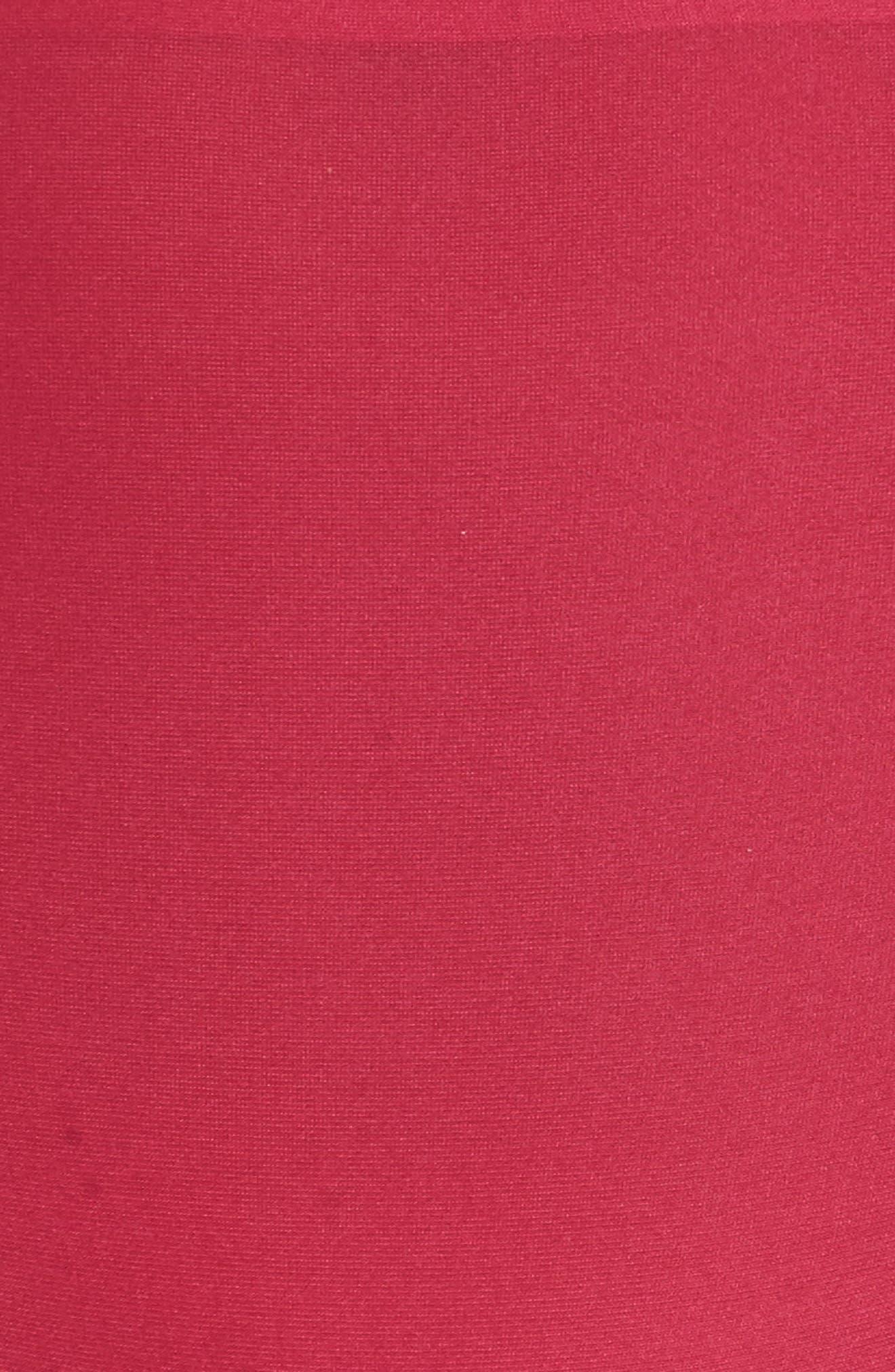 Soft Stretch High Waist Seamless Briefs,                             Alternate thumbnail 5, color,                             Magenta