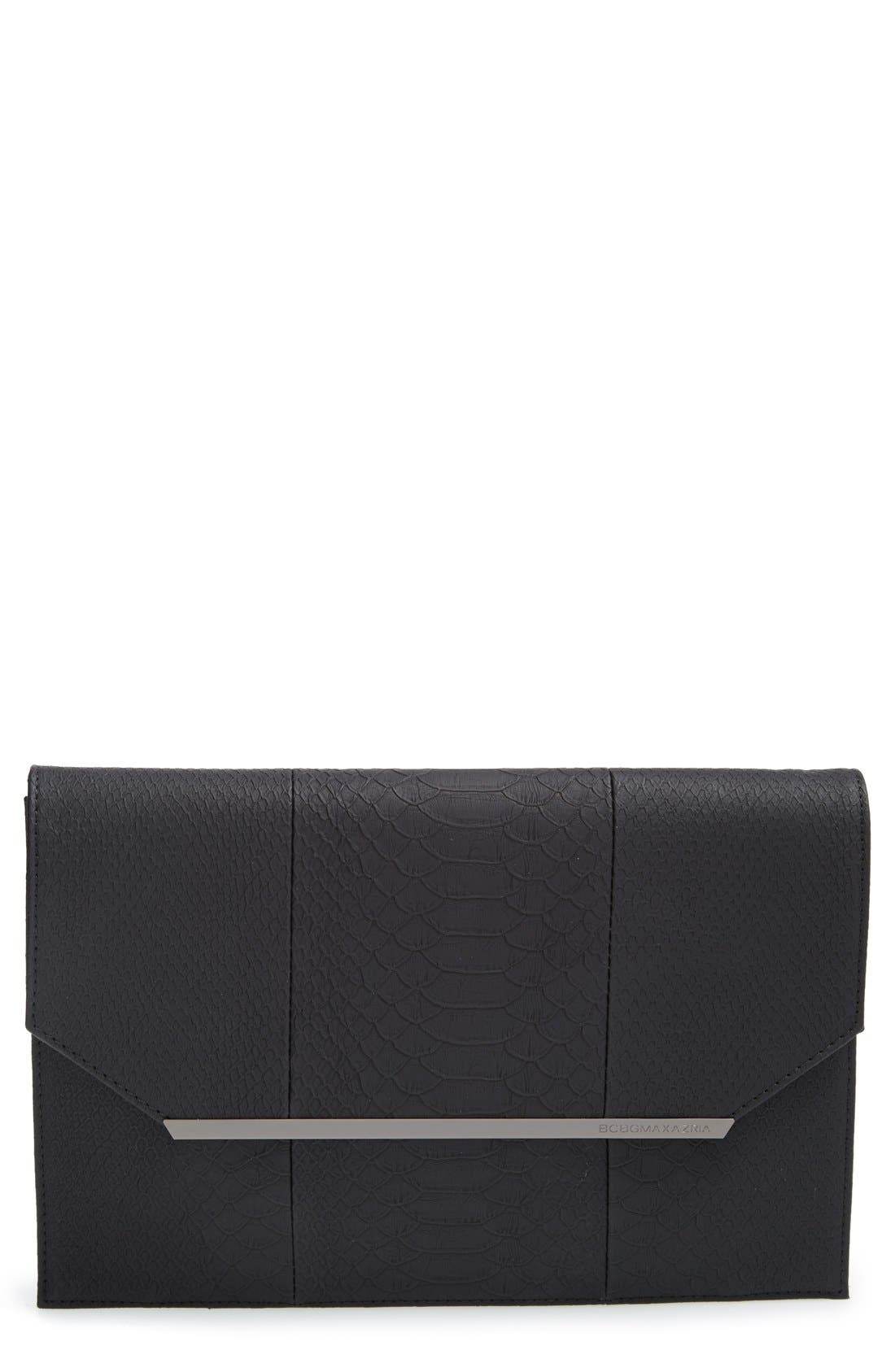 Alternate Image 1 Selected - BCBGMAXAZRIA 'Kelly' Envelope Clutch