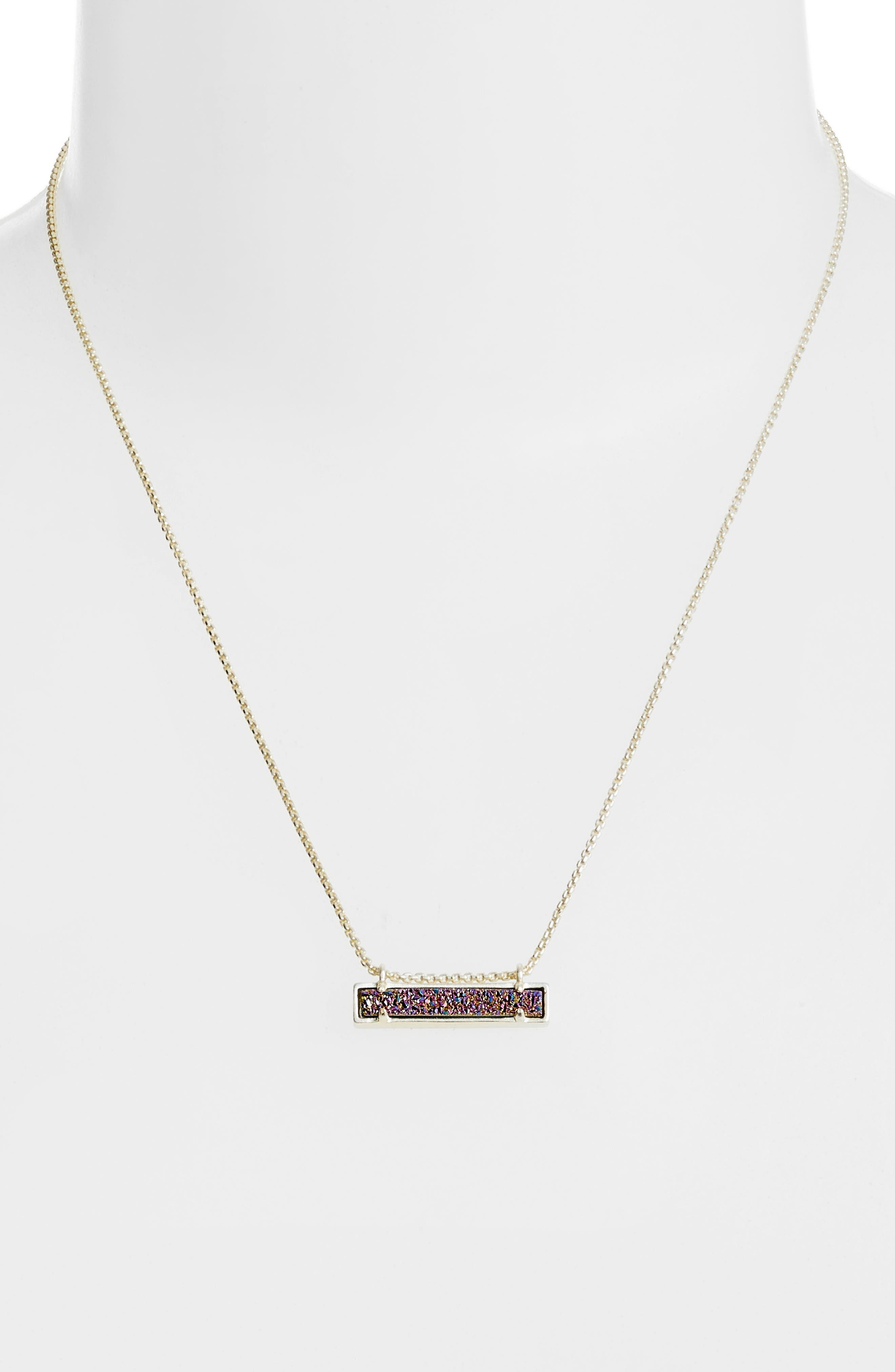 Leanor Pendant Necklace,                             Alternate thumbnail 2, color,                             Multi/ Gold