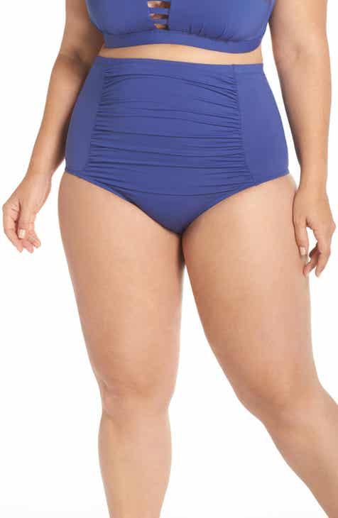 87d8f76a9a Becca Etc. Color Code High Waist Bikini Bottoms (Plus Size)