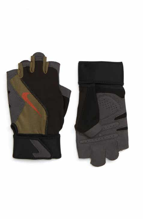 Mens Fingerless Gloves Leather Knit Convertible Nordstrom