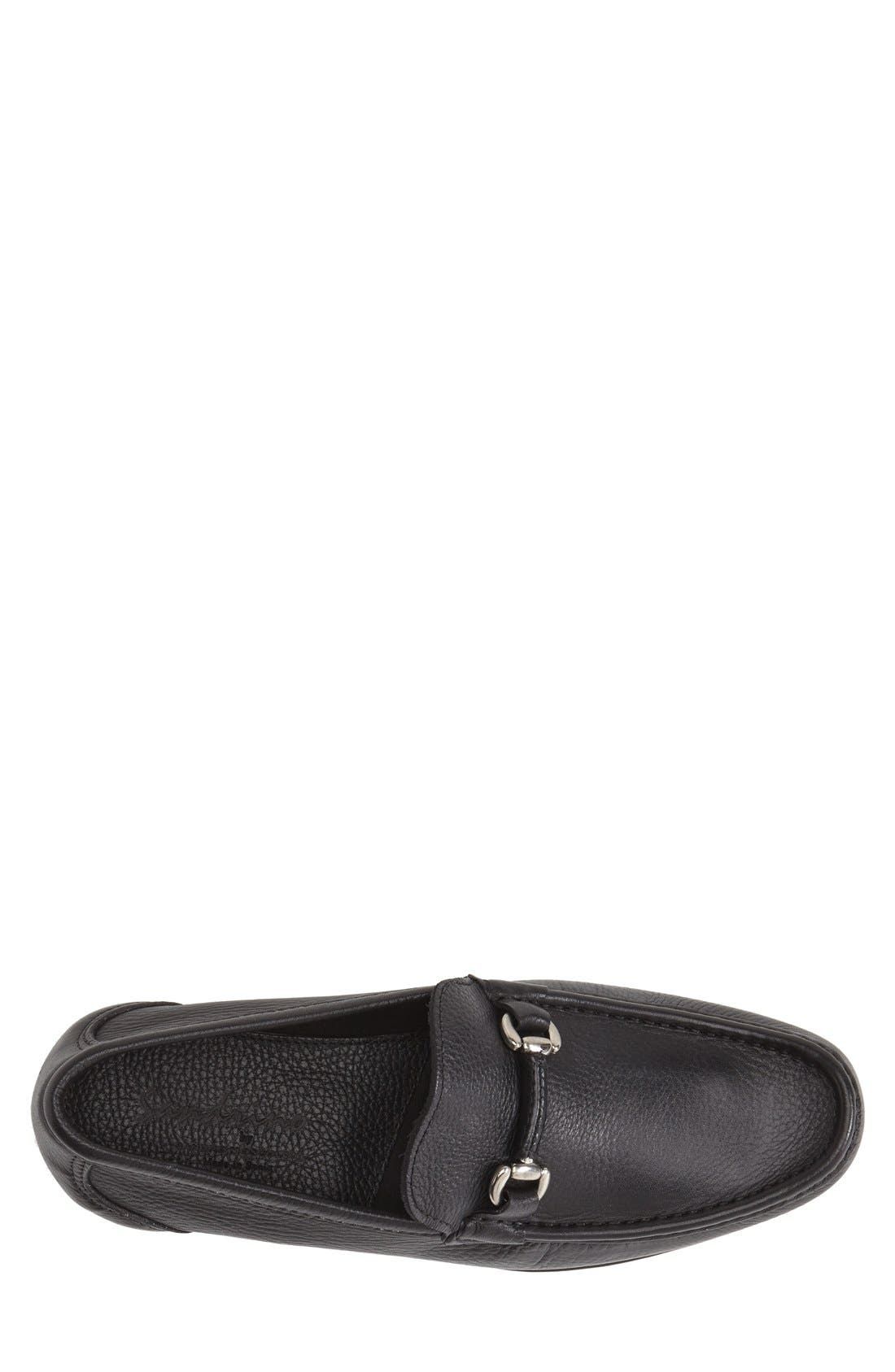 Alternate Image 3  - Sandro Moscoloni 'San Remo' Leather Bit Loafer (Men)