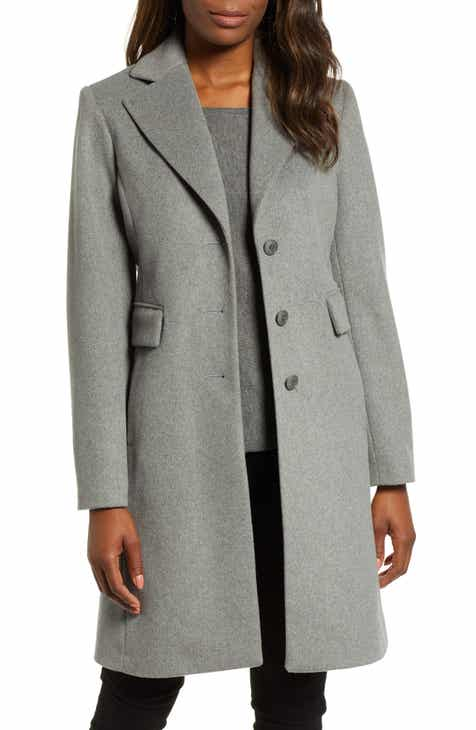 Kristen Blake Walking Coat (Regular   Petite) f60d1ceb6