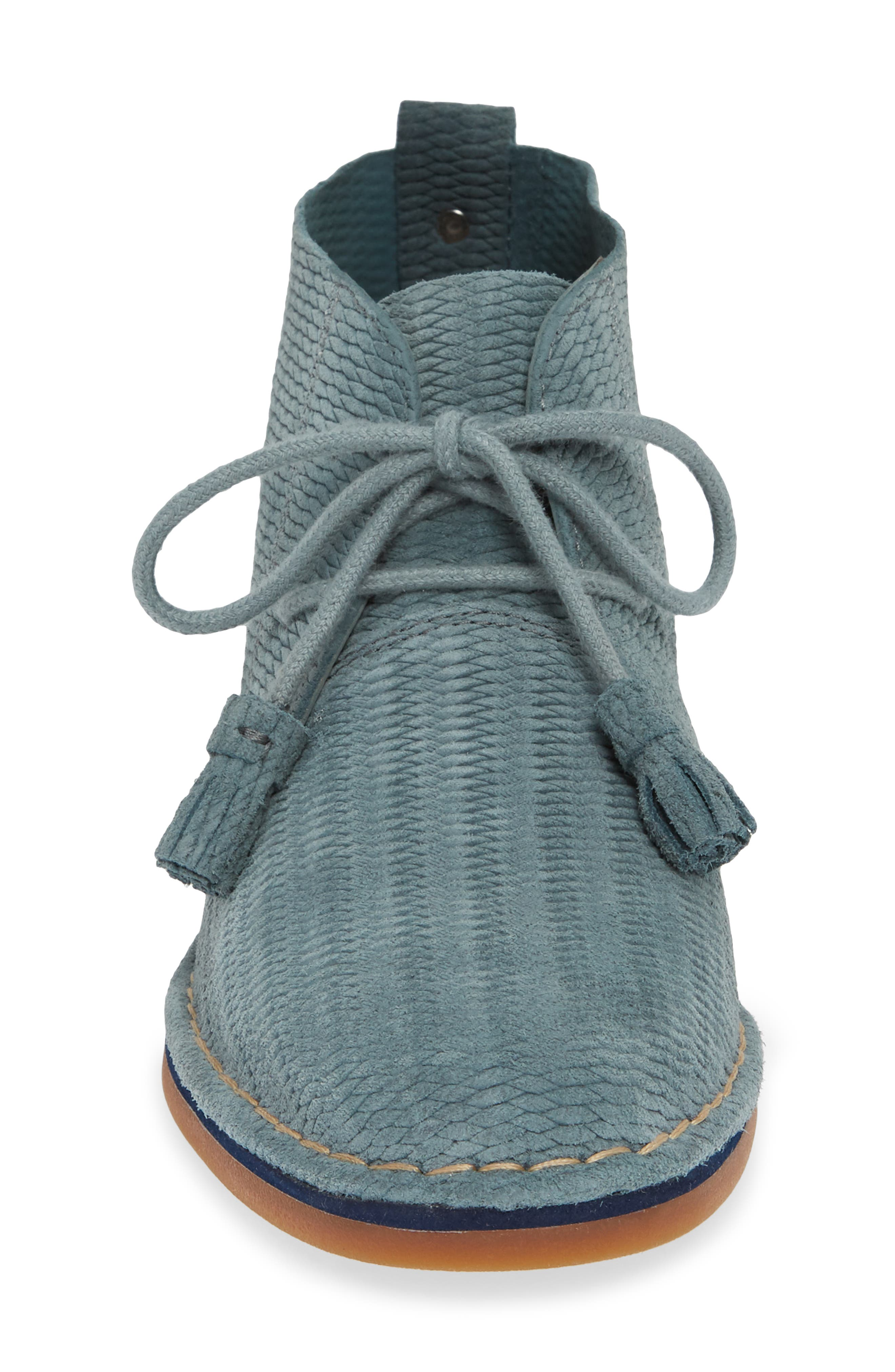 'Cyra Catelyn' Chukka Boot,                             Alternate thumbnail 6, color,                             Storm Embossed Suede