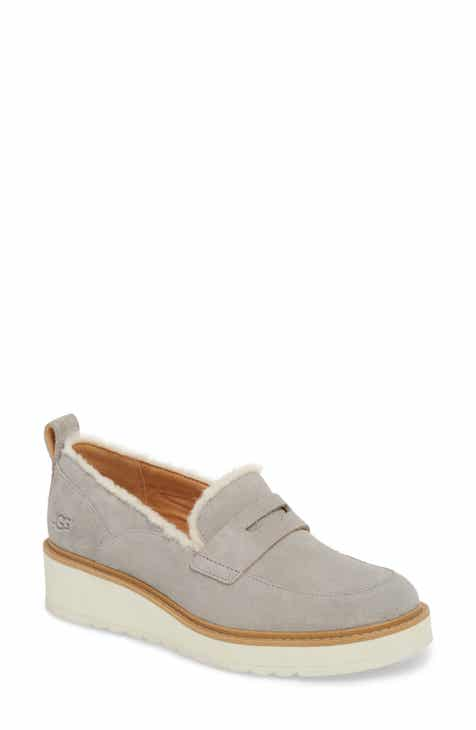 UGG® Atwater Spill Seam Wedge Loafer (Women) a54db05595