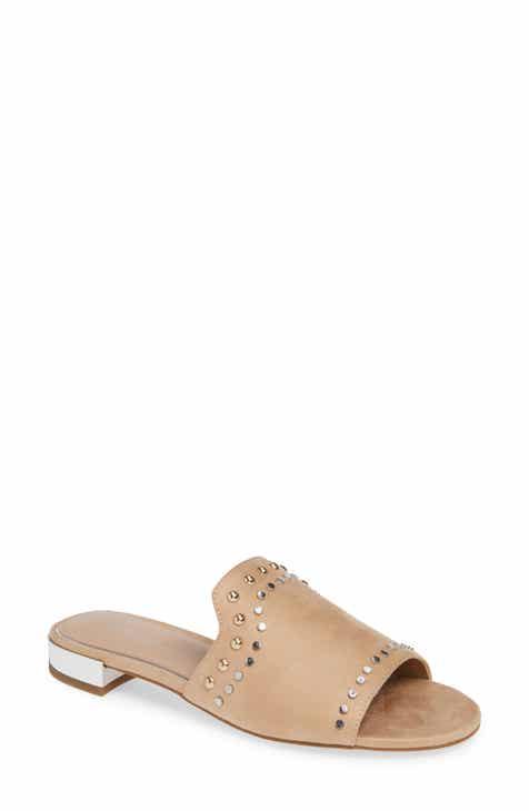 84fcc225bace4 BCBG Devin Studded Slide Sandal (Women)