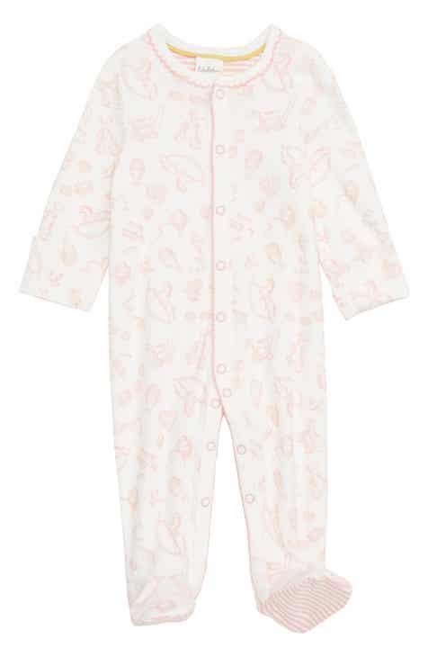 a5a3f5674e3 Mini Boden Organic Cotton Footie (Baby)