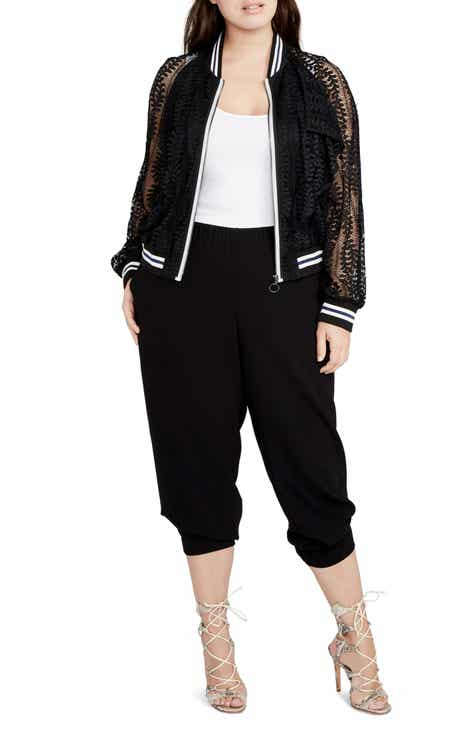 RACHEL Rachel Roy Crop Jogger Pants (Plus Size) by RACHEL RACHEL ROY