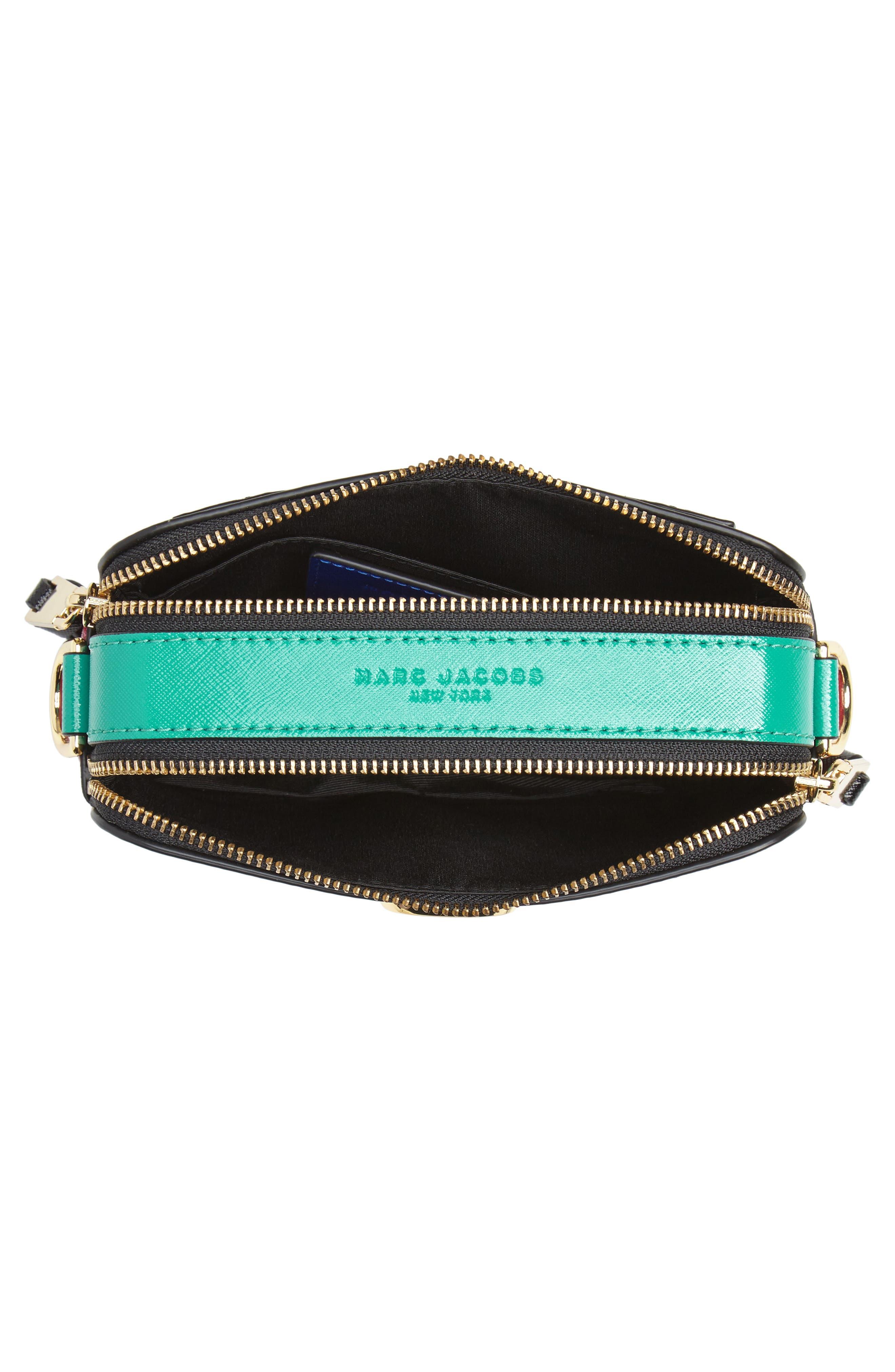 Snapshot Crossbody Bag,                             Alternate thumbnail 5, color,                             Academy Blue Multi