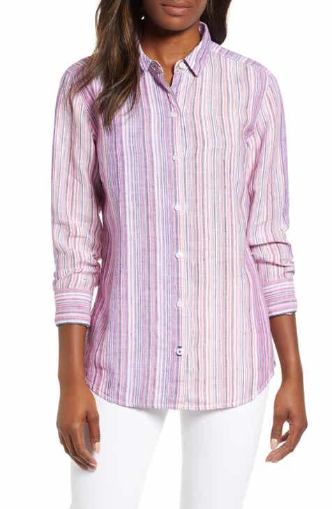 f6063c87701da Tommy Bahama Micronesia Stripe Linen Shirt