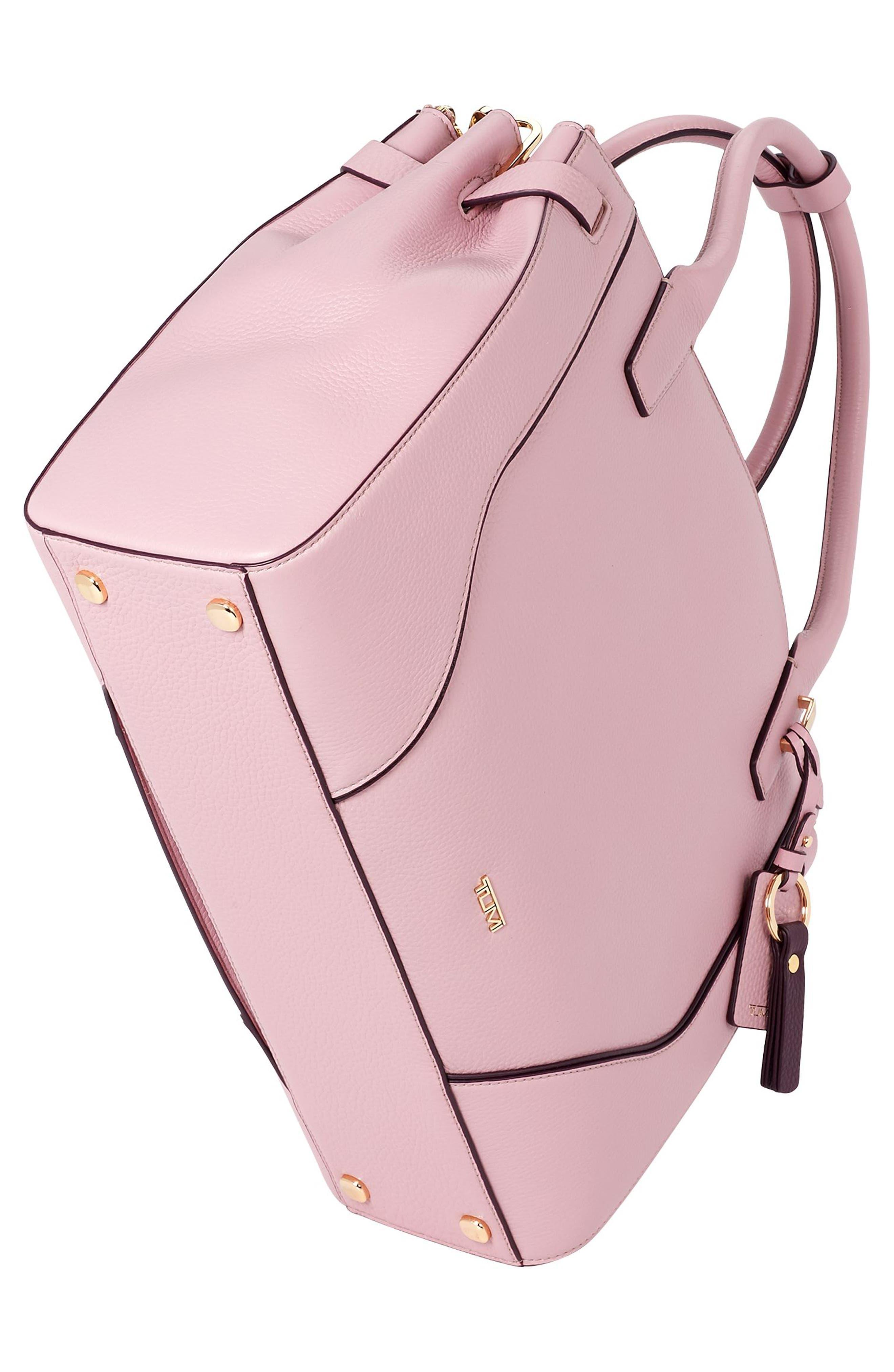 Stanton Kiran Leather Laptop Briefcase,                             Alternate thumbnail 4, color,                             Pink