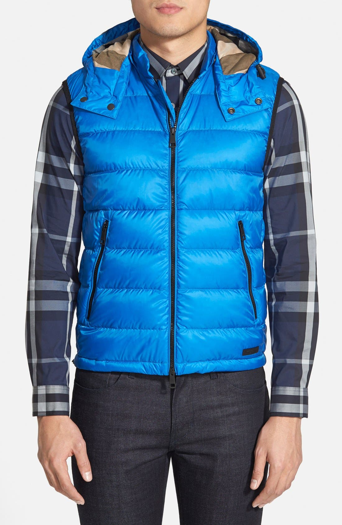 Alternate Image 1 Selected - Burberry 'Moores' Down Vest