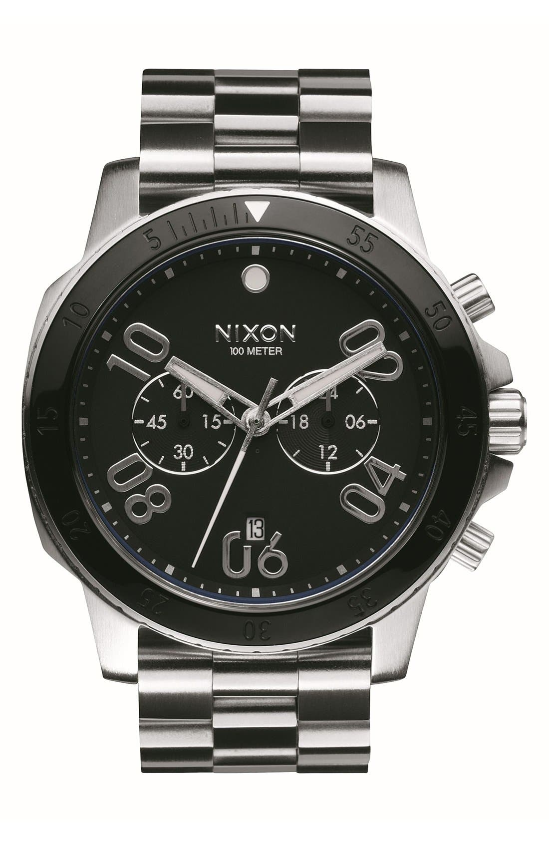 Alternate Image 1 Selected - Nixon 'Ranger' Chronograph Bracelet Watch, 44mm