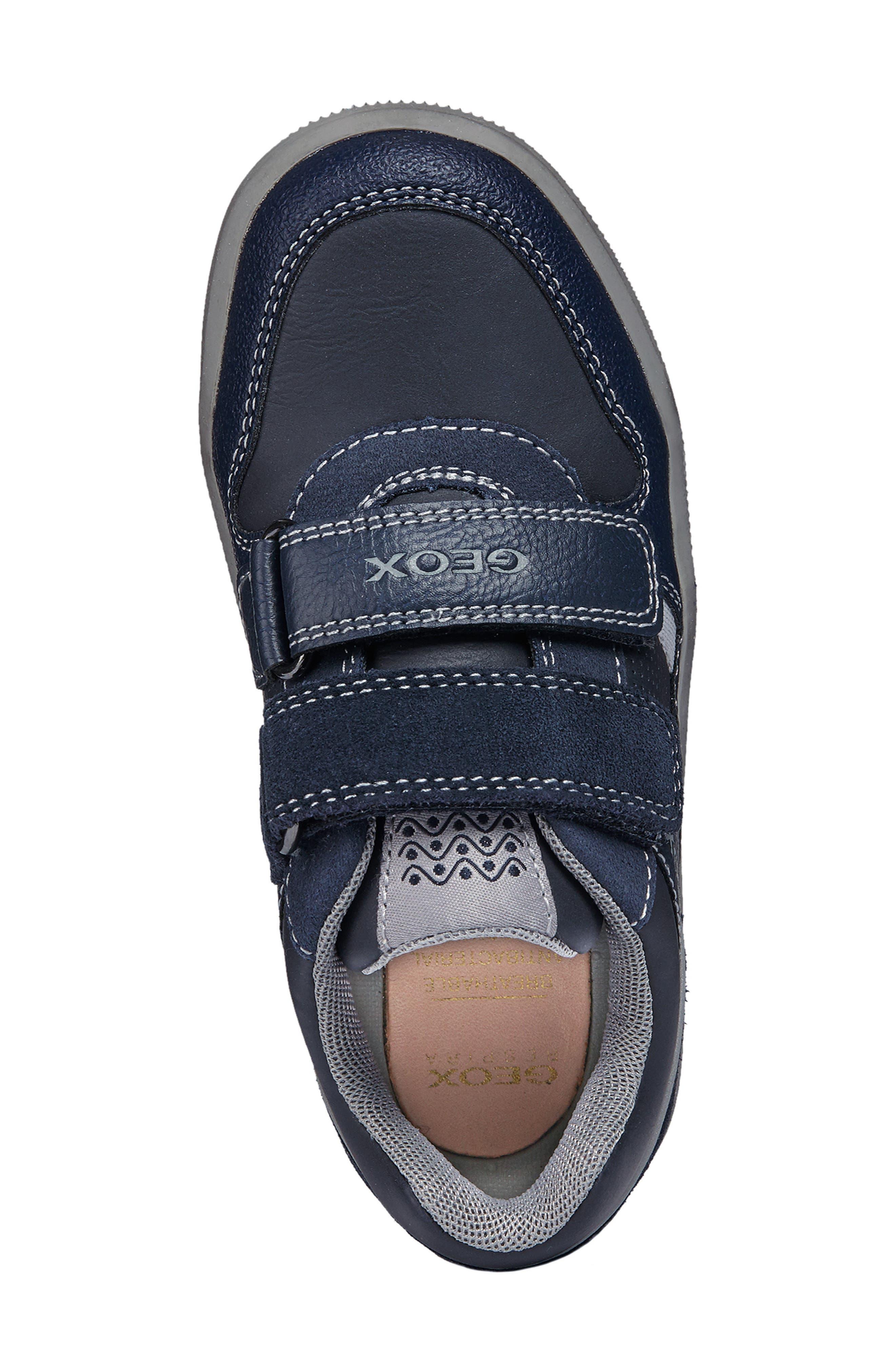 Jr Arzach Sneaker,                             Alternate thumbnail 4, color,                             Navy Blue/ Grey