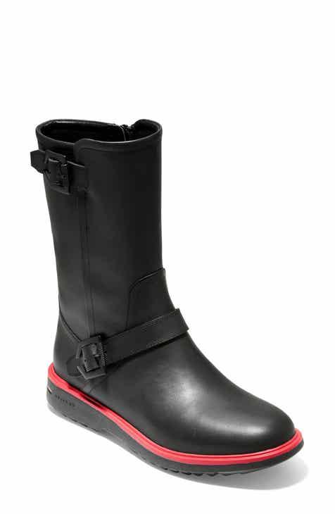 fa25fc49ffd5 Cole Haan Millbridge Waterproof Moto Boot (Women)