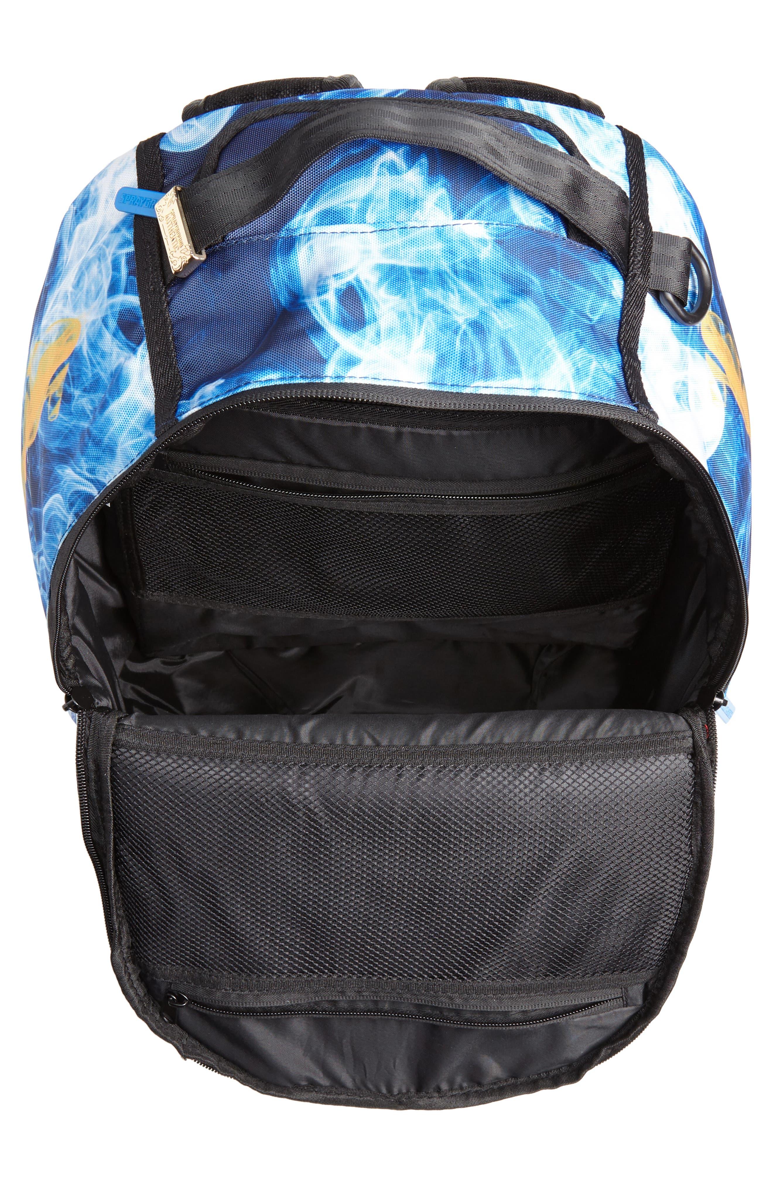 Golden State Smoke Backpack,                             Alternate thumbnail 6, color,                             Blue
