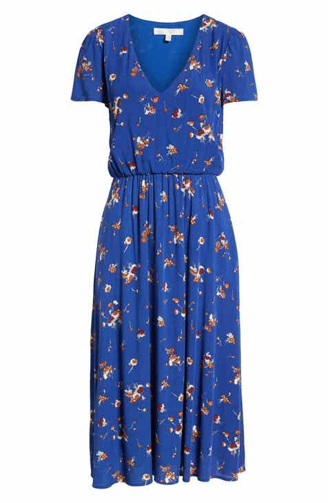 WAYF Blouson Midi Dress (Regular & Plus Size)