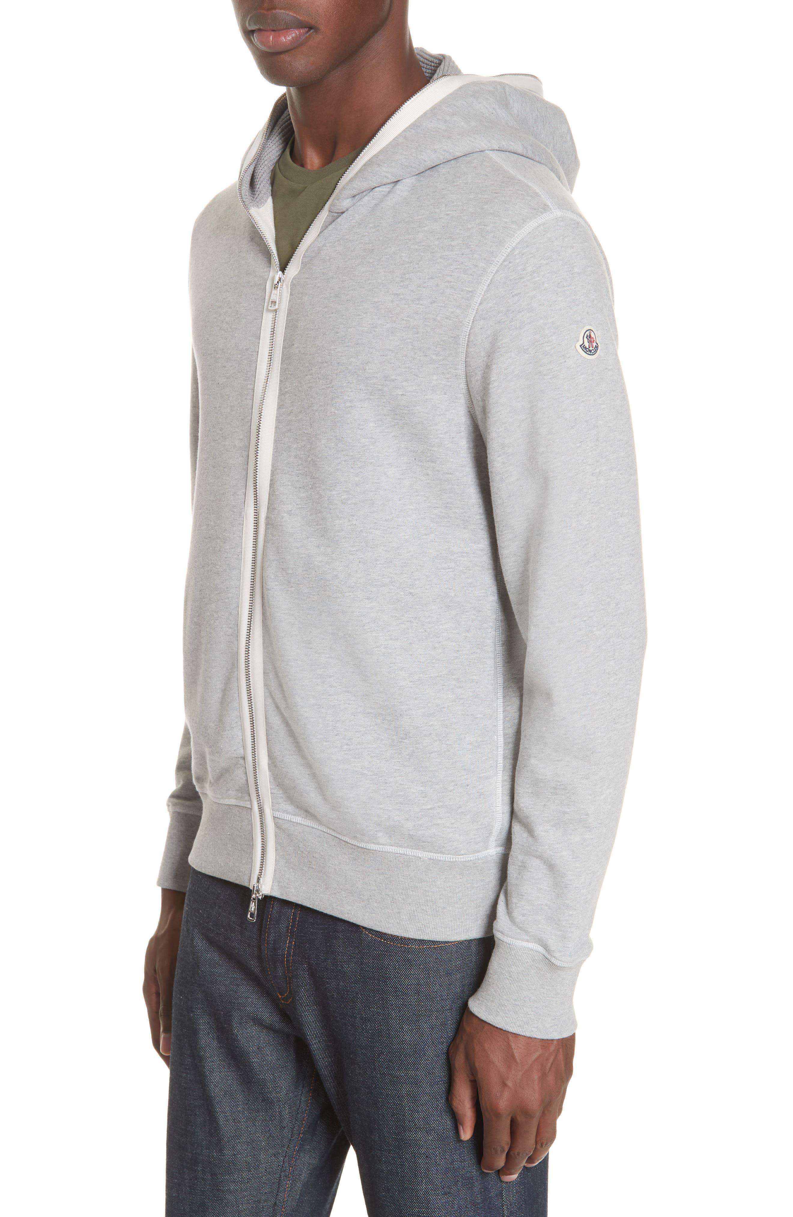 moncler beige hoodie
