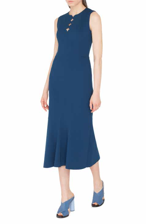 Akris punto Scallop Cutout Dress by AKRIS PUNTO
