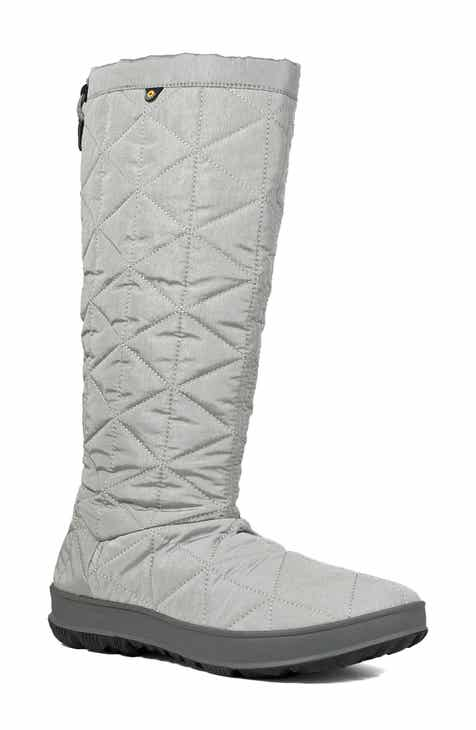 530b9cdc69a Bogs Snowday Tall Waterproof Quilted Snow Boot (Women)