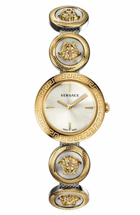 ffd1681c2 Versace Medusa Stud Icon Bracelet Watch, 28mm