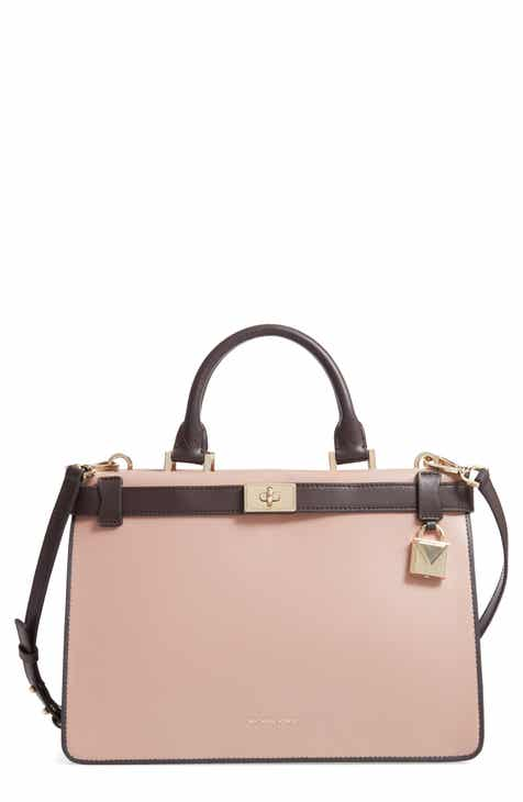 Michael Kors Tatiana Leather Satchel