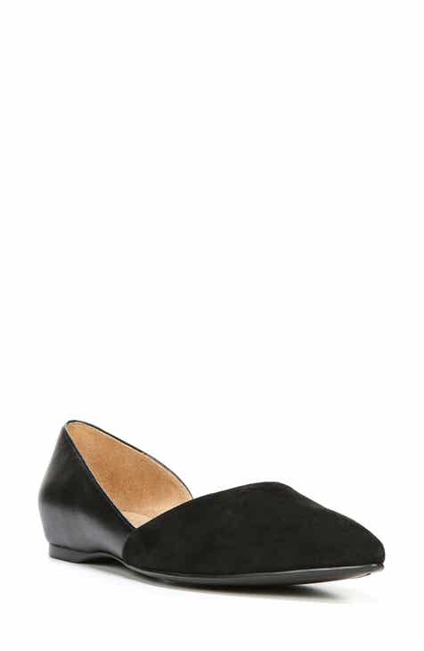 b922be179 Naturalizer Samantha Half d'Orsay Flat (Women)