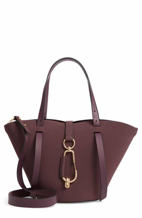 Zac Posen Small Belay Calfskin Leather Tote
