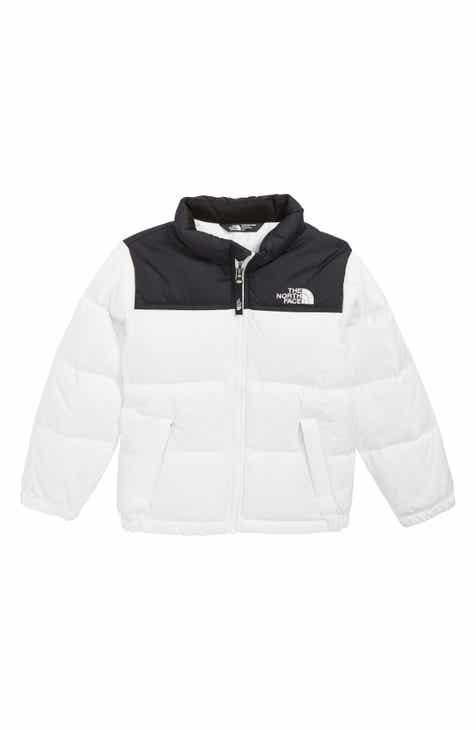 The North Face Nuptse 700 Fill Power Down Puffer Jacket (Toddler Girls    Little Girls) 36ba62e57