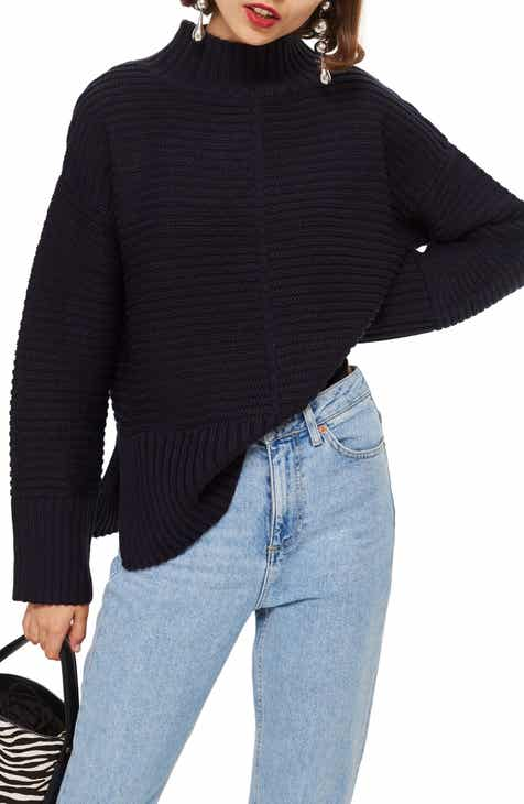 92dcc3350e Women s Mock Neck Sweaters