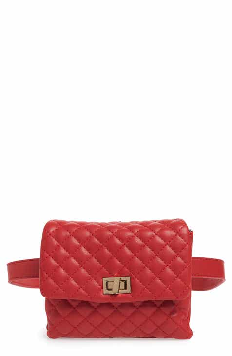 fe75152b661 Mali + Lili Quilted Vegan Leather Belt Bag