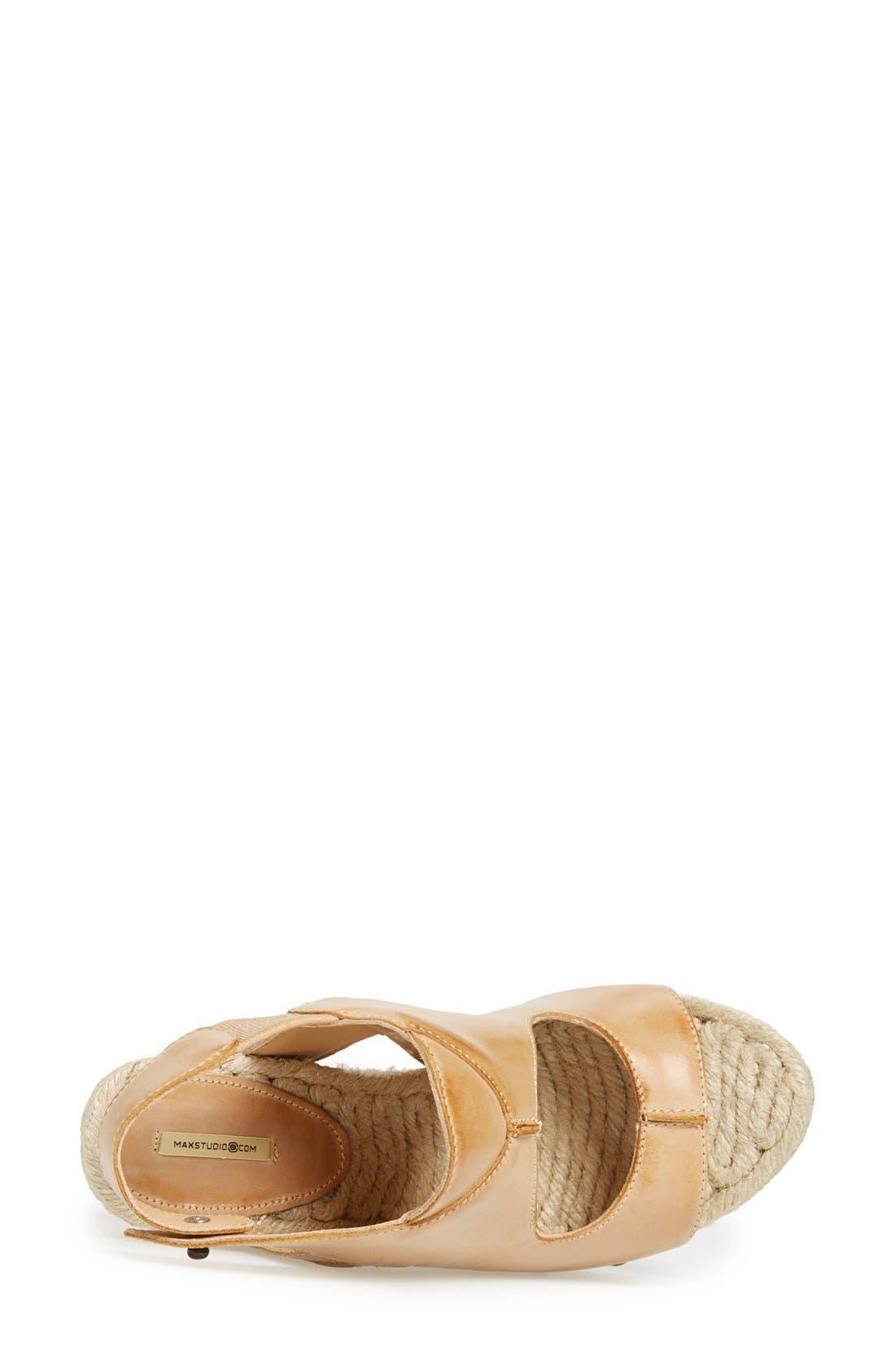 Alternate Image 3  - MAXSTUDIO 'Fiore' Platform Wedge Sandal (Women)