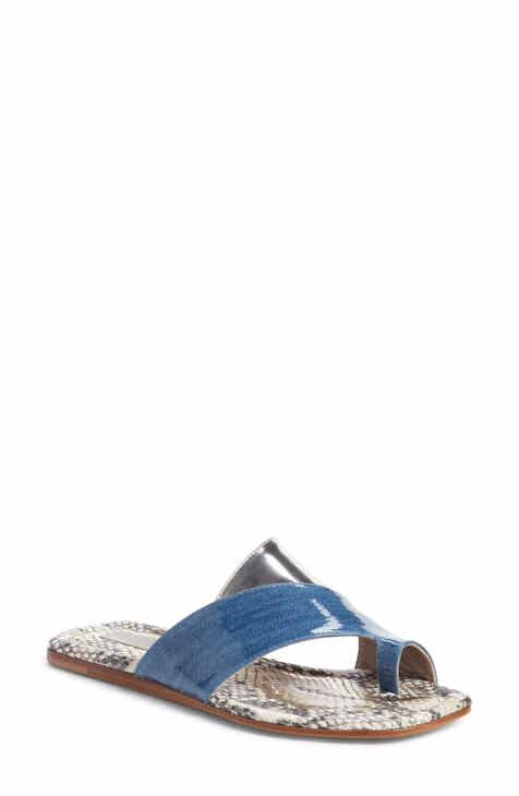 e48176ff03b AGL Asymmetrical Toe Loop Slide Sandal (Women)