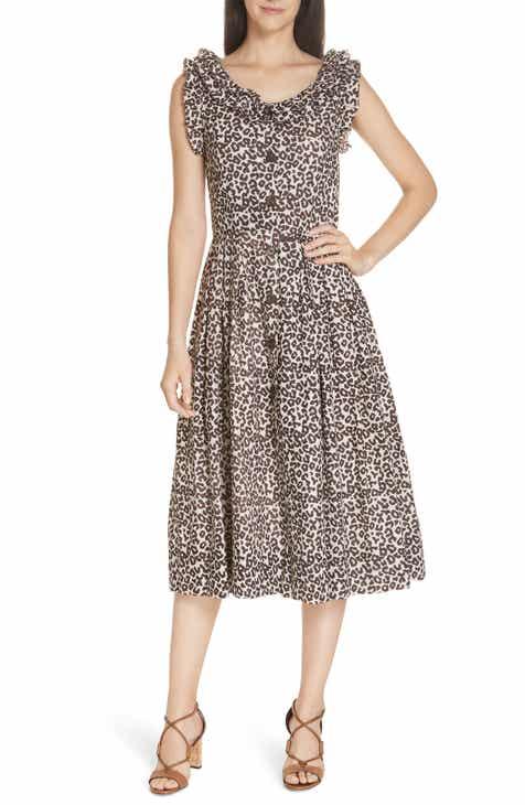 4f75ec5523 Sea Lottie Leopard Print Dress